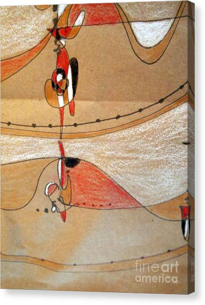 Rappeling Canvas Print