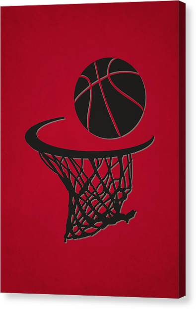 Toronto Raptors Canvas Print - Raptors Team Hoop2 by Joe Hamilton