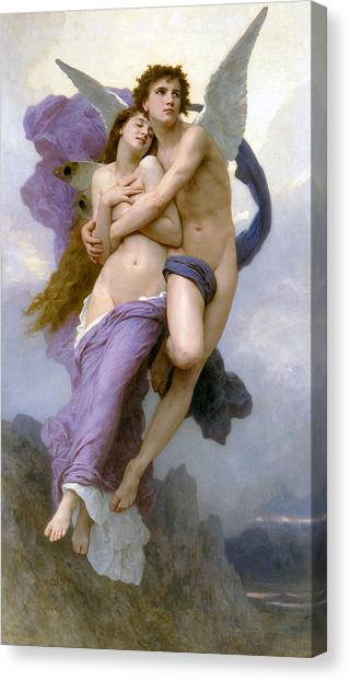 Rapture Of Psyche  Canvas Print