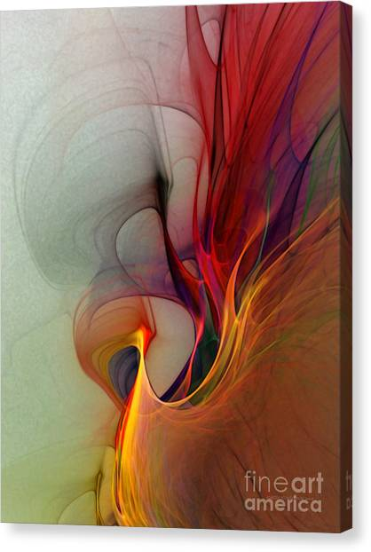 Rapture Of The Deep-abstract Art Canvas Print