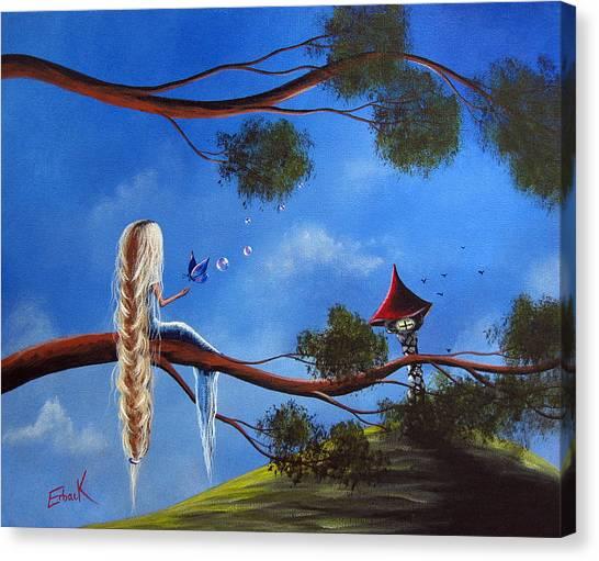 Original Fantasy Art By Shawna Erback Canvas Print by Shawna Erback