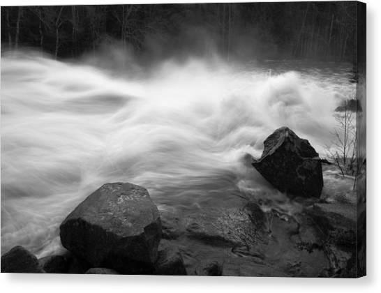 Raquette River Canvas Print