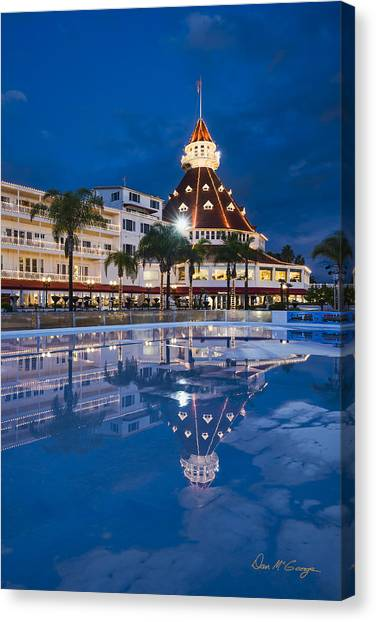 Rare Reflection Canvas Print