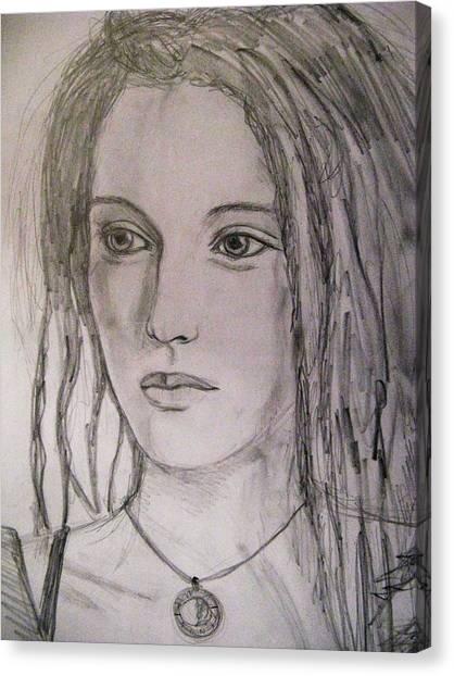 Rasta Divine Canvas Print by Agata Suchocka-Wachowska