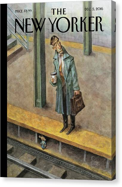 Rat Race Canvas Print