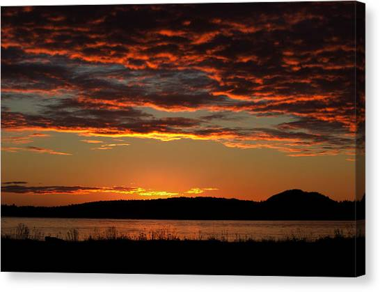 Rathtrevor Sunrise Canvas Print