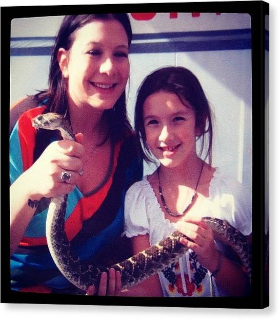 Rattlesnakes Canvas Print - #rattlesnake by Berlin Green
