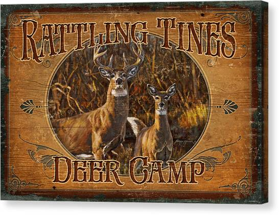 Shotguns Canvas Print - Rattling Tines by JQ Licensing