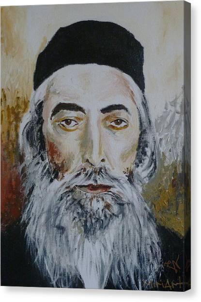Rav Yaakov Yosef Herman Canvas Print