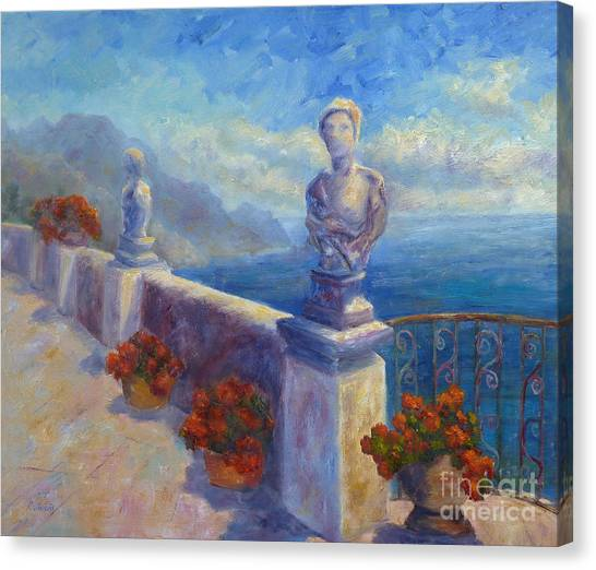 Ravello View Canvas Print