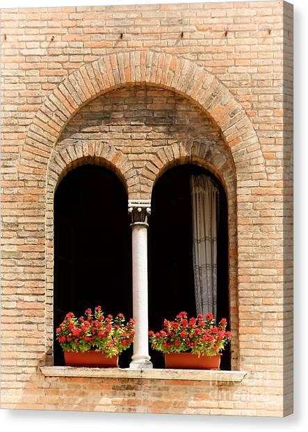 Ravenna Window Canvas Print