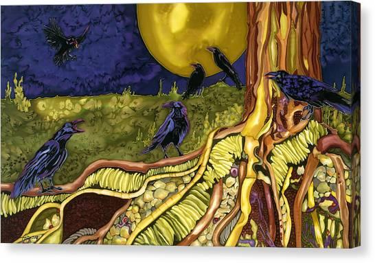 Raven's Cache Canvas Print