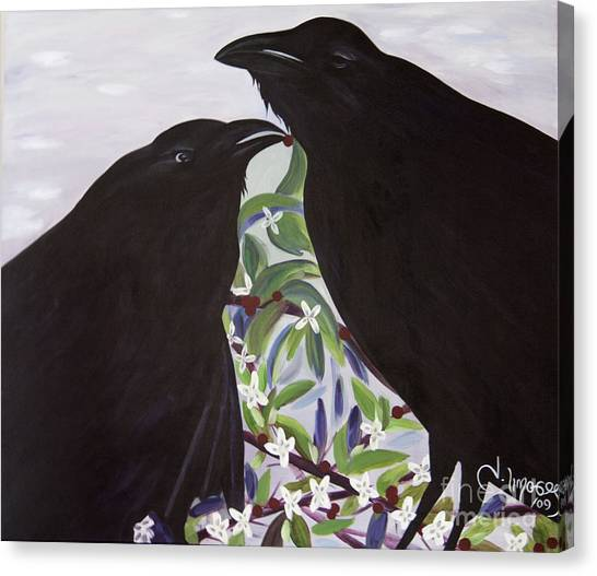Ravens Song Canvas Print