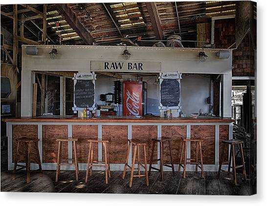 Raw Bar Canvas Print