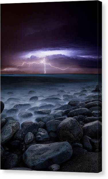 Raw Power Canvas Print