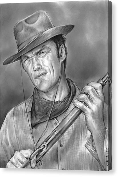 Rifles Canvas Print - Rawhide by Greg Joens