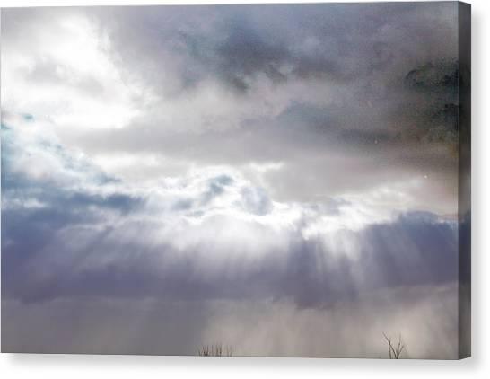 Ray From Heaven Canvas Print by Rhonda Humphreys