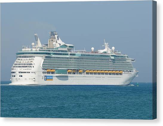 Rci Freedom Of The Seas Canvas Print