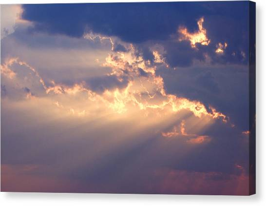 Cloud Canvas Print - Reach For The Sky 2 by Mike McGlothlen
