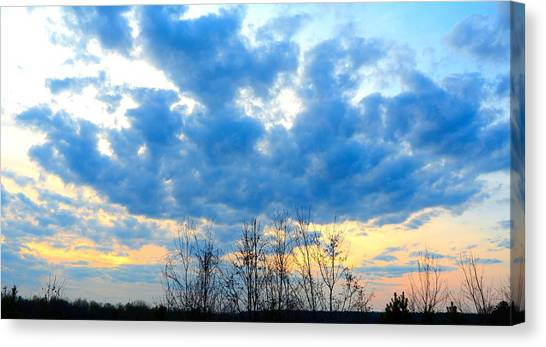 Reach Out And Touch The Sky Canvas Print