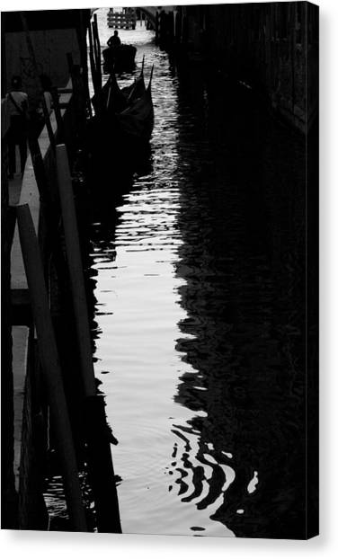 Reaching Back - Venice Canvas Print