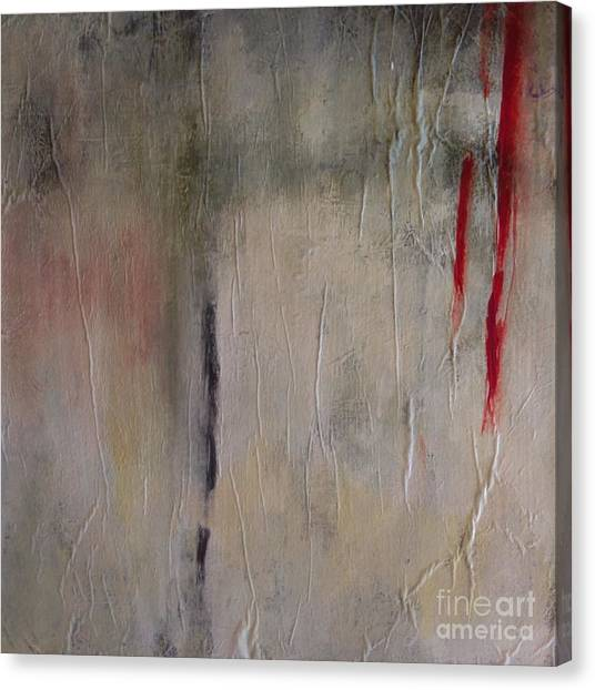Reaching Canvas Print by Bebe Brookman