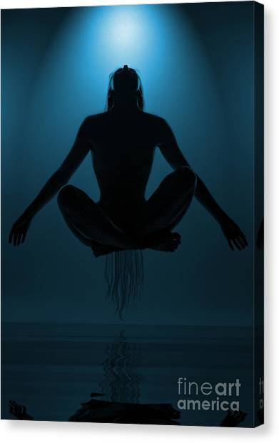 Nirvana Canvas Print - Reaching Nirvana.. by Nina Stavlund