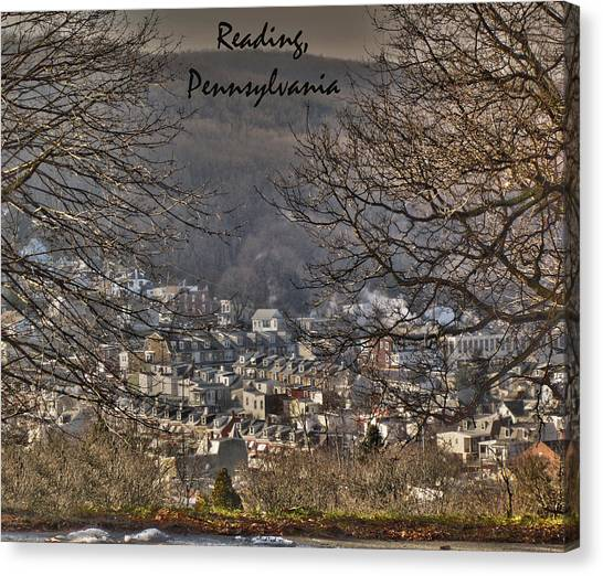 Reading Pennsylvania Canvas Print