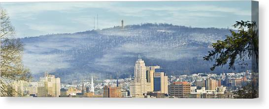 Reading Skyline Canvas Print
