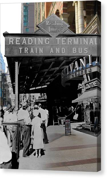 Reading Terminal Canvas Print