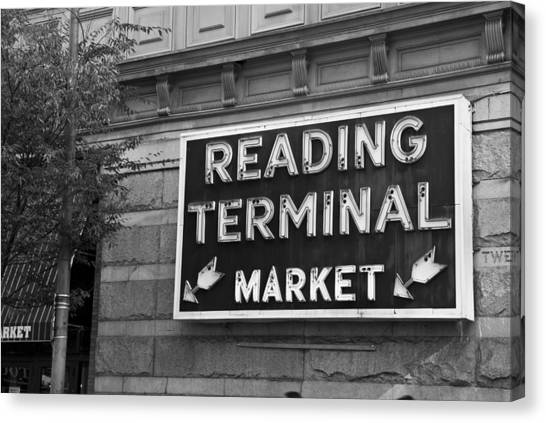 Reading Terminal Market Canvas Print