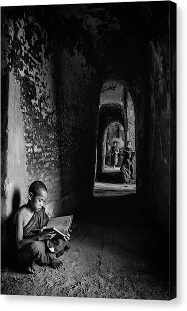 Monastery Canvas Print - Readings by Michael Lim