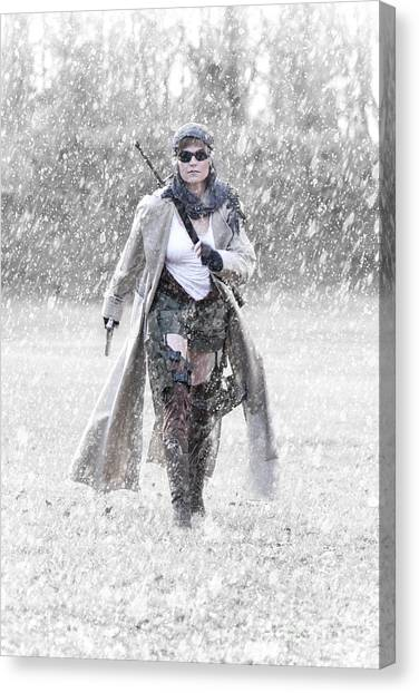 Resident Evil Canvas Print - Ready For Action by Jt PhotoDesign