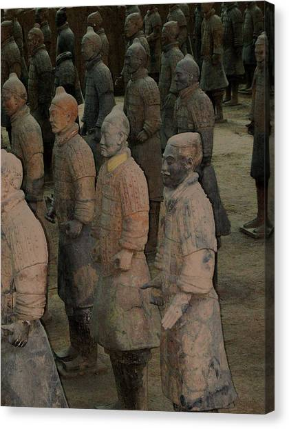 Ready For Duty In China Canvas Print