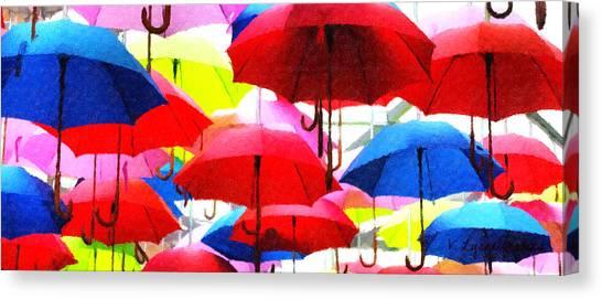 Ready For Rain Canvas Print