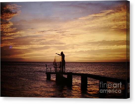 Ready The Net Canvas Print