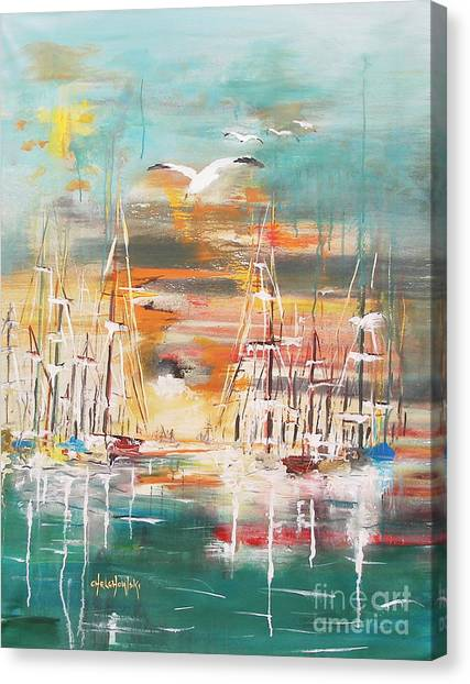 Ready To Sail Away Canvas Print