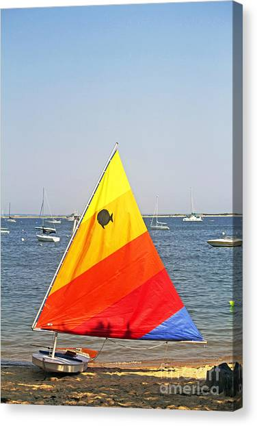 Ready To Sail Canvas Print