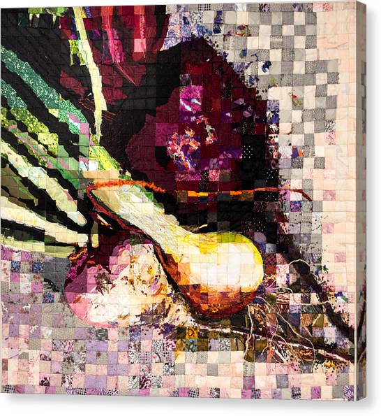 Real Food Grown In Healthy Soil Canvas Print