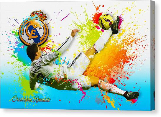 Real Madrid - Cr Canvas Print