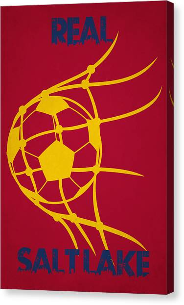 Real Salt Lake Canvas Print - Real Salt Lake Goal by Joe Hamilton
