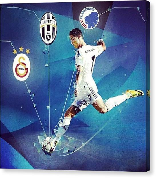 Bats Canvas Print - #realmadrid #cr7 #championsleague by Moe Bat