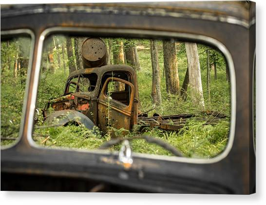 Rear View Canvas Print