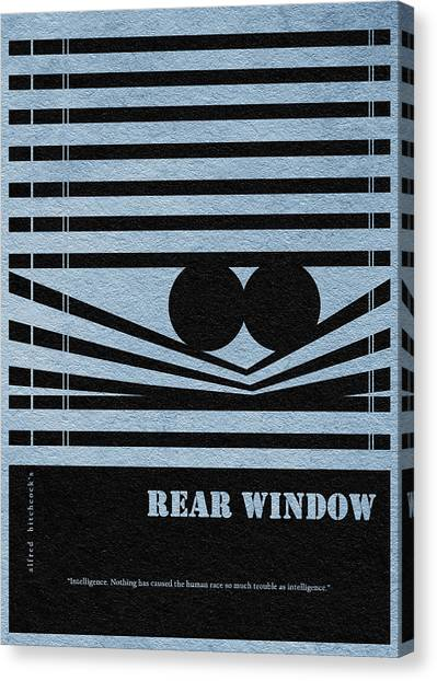 Vertigo Canvas Print - Rear Window by Inspirowl Design