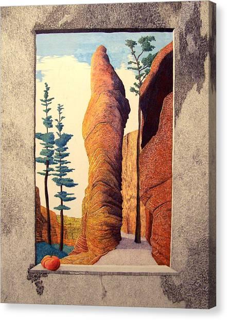 Reared Window Canvas Print