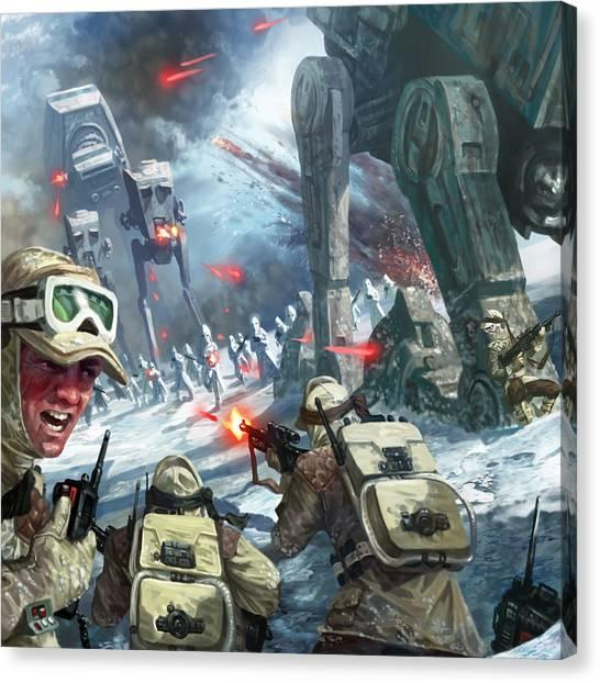 Rebel Rescue Canvas Print