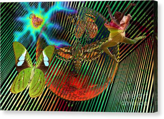 Rebirth Of Life Canvas Print