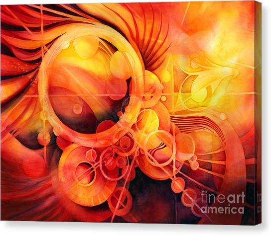 Rebirth Canvas Print - Rebirth - Phoenix by Hailey E Herrera