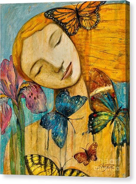 Rebirth Canvas Print - Rebirth by Shijun Munns