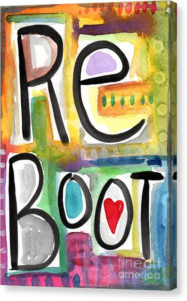 Repairs Canvas Print - Reboot by Linda Woods